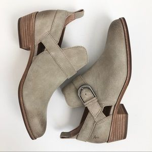 Frye Mia cut out booties - new in box